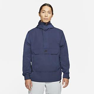 Nike Sportswear Premium Essentials Ofodrad anorak med huva för män