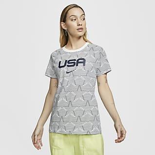 Nike Sportswear Playera con estampado USA para mujer