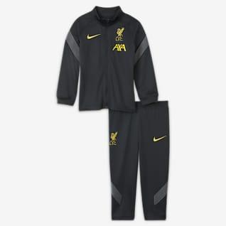 Liverpool FC Strike Nike Knit voetbaltrainingspak met Dri-FIT voor baby's/peuters