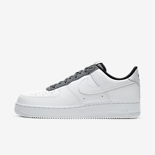 White Air Force 1 Shoes.