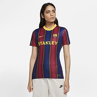 FC Barcelona Women 2020/21 Stadium Home Fodboldtrøje til kvinder