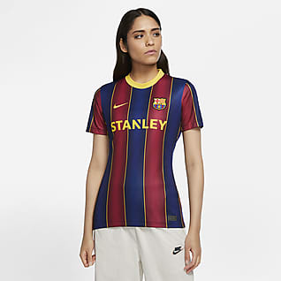F.C. Barcelona Women 2020/21 Stadium Home Women's Football Shirt