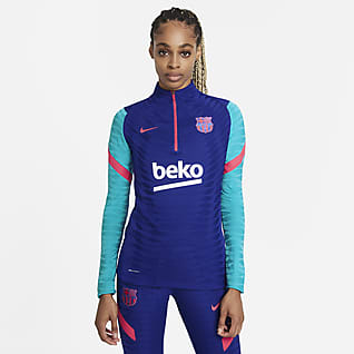 FC Barcelona VaporKnit Strike Haut d'entraînement de football pour Femme