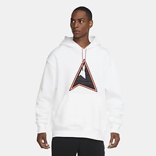 Wit Hoodies en sweatshirts. Nike NL
