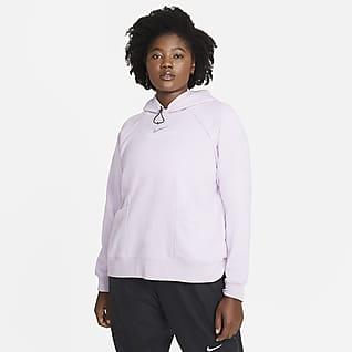 Nike Sportswear Swoosh Sudadera con capucha (Talla grande) - Mujer