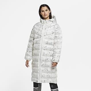 Nike Sportswear Marble EcoDown Parka til kvinder