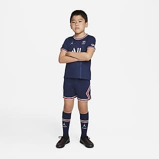 Paris Saint-Germain 2021/22 (wersja domowa) Strój piłkarski dla małych dzieci