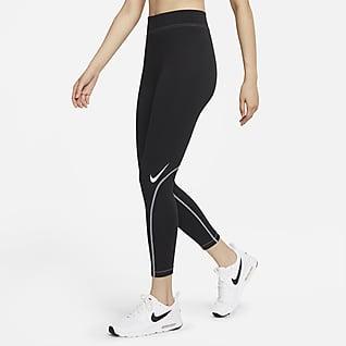 Nike Sportswear Swoosh 女子紧身裤