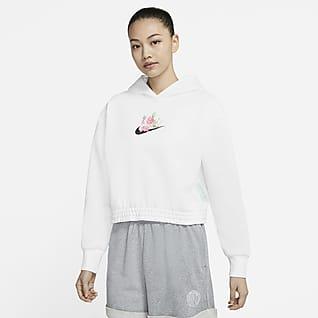 Nike Sportswear 女子起绒套头连帽衫