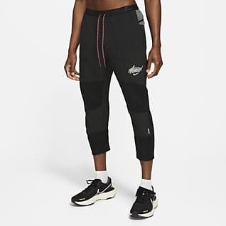 Nike Phenom Elite Wild Run Мужские слегка укороченные беговые брюки из тканого материала