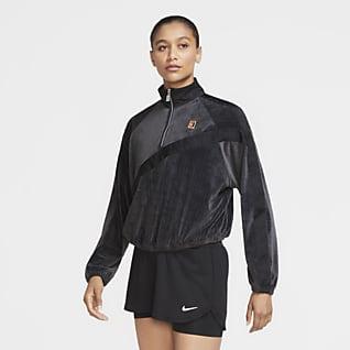 NikeCourt Tennisjacka för kvinnor