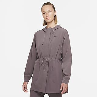 Nike Dri-FIT Bliss Luxe Chamarra anorak para mujer