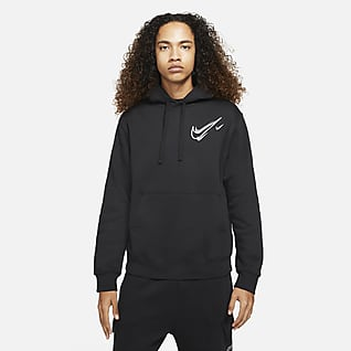 Nike Sportswear Pánská flísová mikina s kapucí