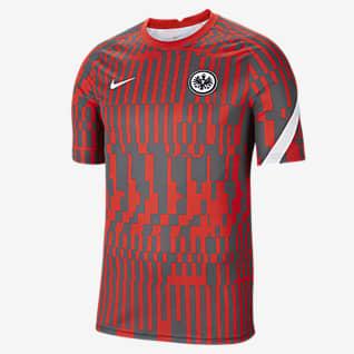 Eintracht Frankfurt Kurzärmeliges Pre-Match-Fußballoberteil für Herren