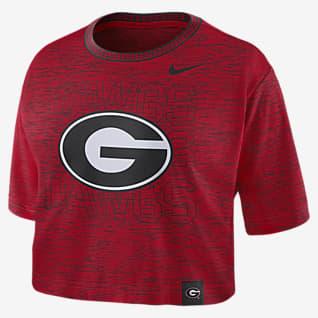 Nike College (Georgia) Women's Crop T-Shirt