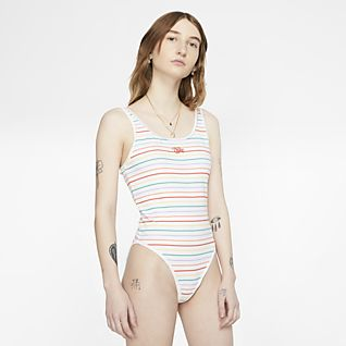 Nike Sportswear Γυναικείο εμπριμέ ολόσωμο κορμάκι
