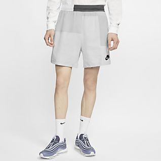 Nike Sportswear NSW กางเกงขาสั้นผู้ชายแบบทอ