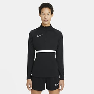 Nike Dri-FIT Academy Camiseta de entrenamiento de fútbol para mujer