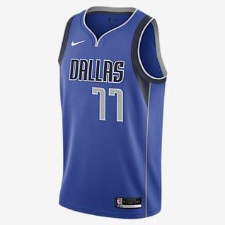 Luka Doncic Mavericks Icon Edition 2020 Nike NBA Swingman Jersey
