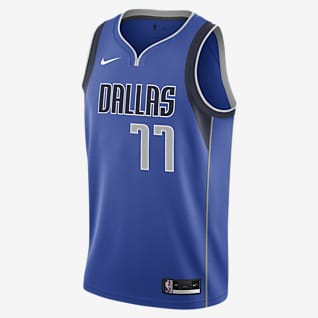 Luka Doncic Mavericks Icon Edition 2020 Maglia Swingman Nike NBA