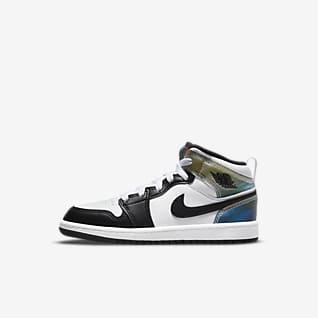Jordan 1 Mid SE Younger Kids' Shoe