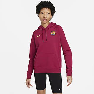 FC Barcelona Hoodie pullover de lã cardada para mulher