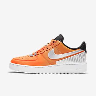 air force 1 hombre naranja