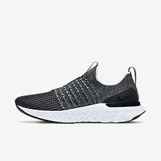 nike black slip on sneakers