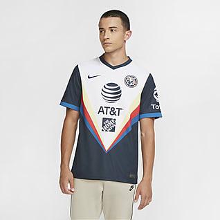 Club América 2020/21 Stadium de visitante Camiseta de fútbol para hombre