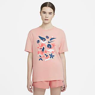 NikeCourt Tennis-t-shirt för kvinnor