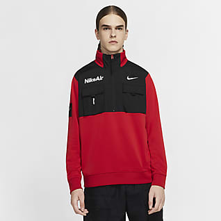 Nike Air 男款半長式拉鍊外套