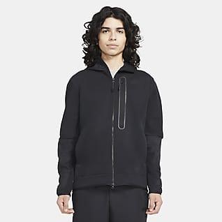 Nike Sportswear Tech Fleece Pánská tkaná mikina skapucí azipem po celé délce
