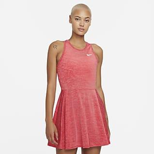 NikeCourt Dri-FIT Advantage Vestido de tenis - Mujer