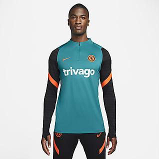 Chelsea FC Strike Nike Dri-FIT férfi futball-edzőfelső