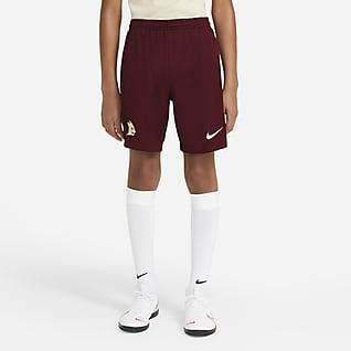 AS Roma de visitante Stadium 2020/21 Shorts de fútbol para niños talla grande