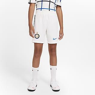 Inter Milan 2020/21 Stadium de local/visitante Shorts de fútbol para niños talla grande