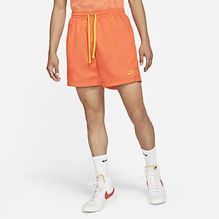 Nike Sportswear Swobodne spodenki z tkaniny
