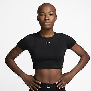 Nike Pro AeroAdapt Damen-Kurzoberteil
