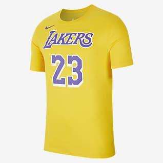 LeBron James Los Angeles Lakers Nike Dri-FIT Men's Nike Dri-FIT NBA T-Shirt