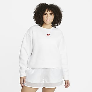 Nike Sportswear Essential Sudadera de vellón para mujer (talla grande)