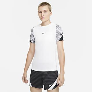 Nike Dri-FIT Strike Женская игровая футболка с коротким рукавом