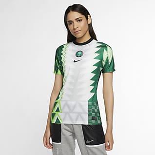 Nigeria de local Stadium 2020 Camiseta de fútbol para mujer