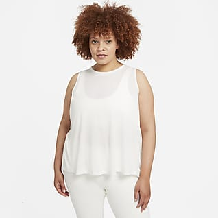 Nike Yoga Dri-FIT Camiseta de tirantes para mujer (talla grande)
