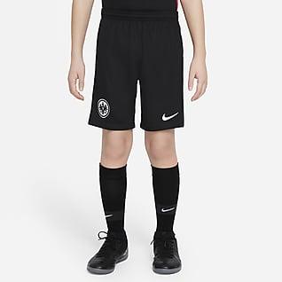 Eintracht Frankfurt 2021/22 Stadium (hemmaställ) Fotbollsshorts för ungdom