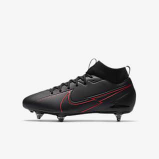 Nike Jr. Mercurial Superfly 7 Academy SG Fotbollssko för vått gräs för barn/ungdom