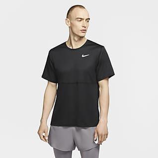 Nike Breathe 男款跑步上衣