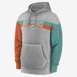 Nike Wordmark (NFL Dolphins) Men's Hoodie