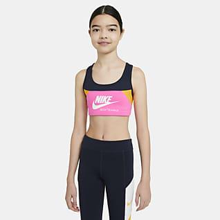 Nike Swoosh Stanik sportowy dla dużych dzieci (dziewcząt)
