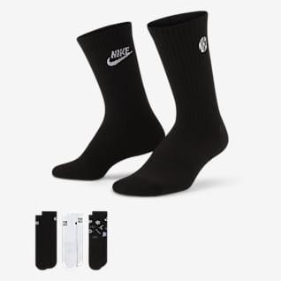 Nike Everyday Cushioned Crew-strømper til børn (3 par)