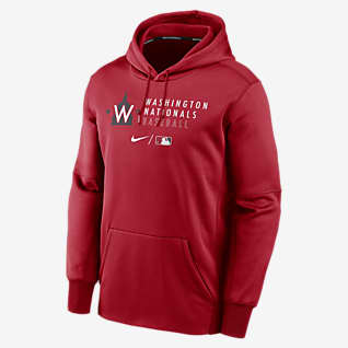 Nike Therma (MLB Washington Nationals) Men's Pullover Hoodie